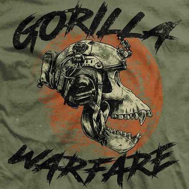 Ranger Up Gorilla Warfare Vintage Shirt RU1051