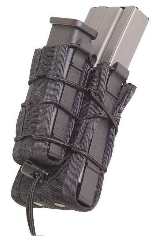 High Speed Gear Belt Mounted Double Decker TACO Pouch 13DD00