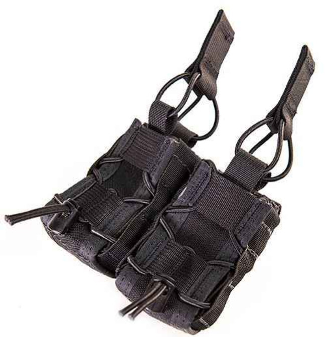 High Speed Gear Double 40MM Belt Mounted Taco Pouch 13M402