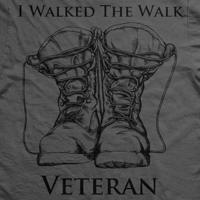 Ranger Up Veteran Walk the Walk T-Shirt RU375
