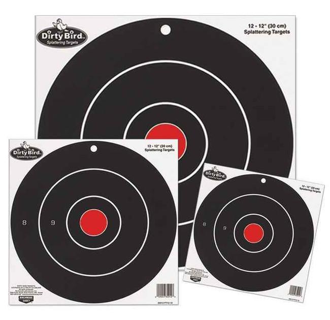 Birchwood Casey Dirty Bird 8 Bulls-Eye Pack 35825 029057358254