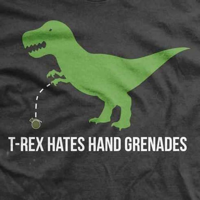 Ranger Up T Rex Hates Hand Grenades RU640