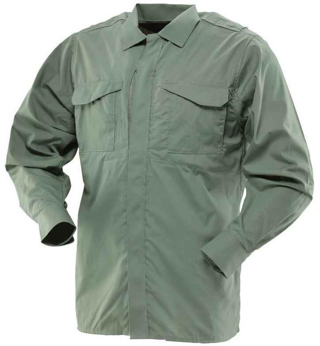 TRU-SPEC 24-7 Series Men's Ultralight Long Sleeve Uniform Shirt olive drab green