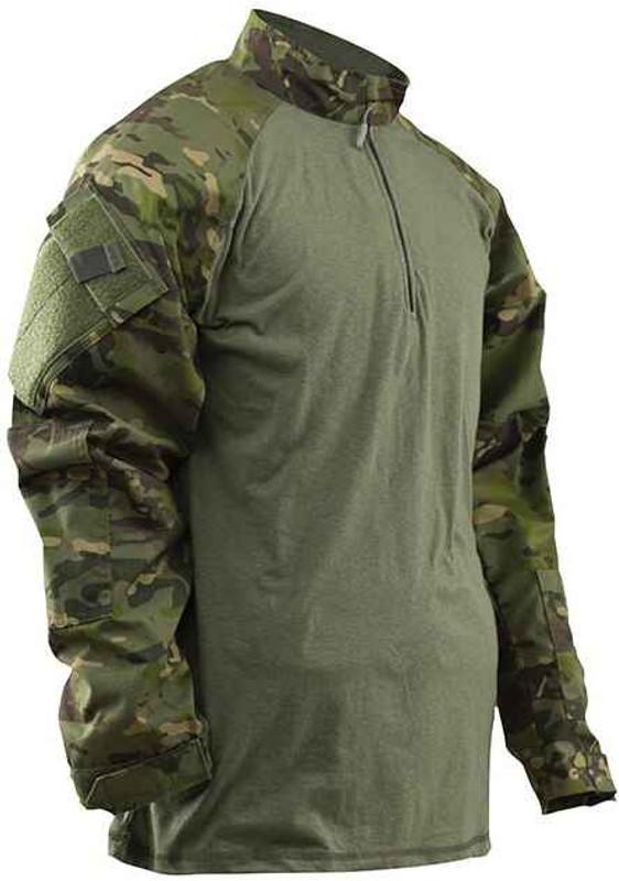 TRU-SPEC Tactical Response Uniform MultiCam Tropic Combat Shirt 2537