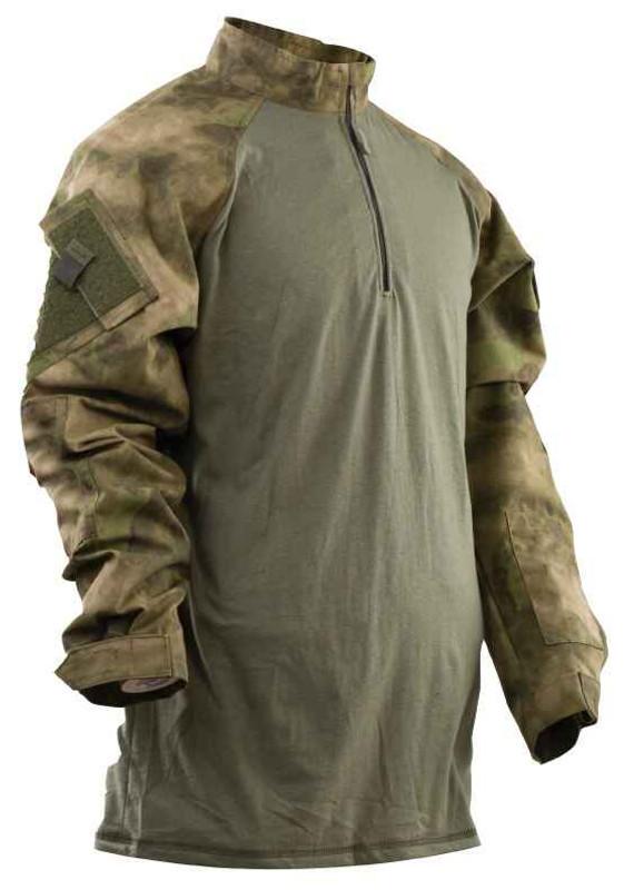 TRU-SPEC A-TACS FG Tactical Response Uniform Combat Shirt 2575
