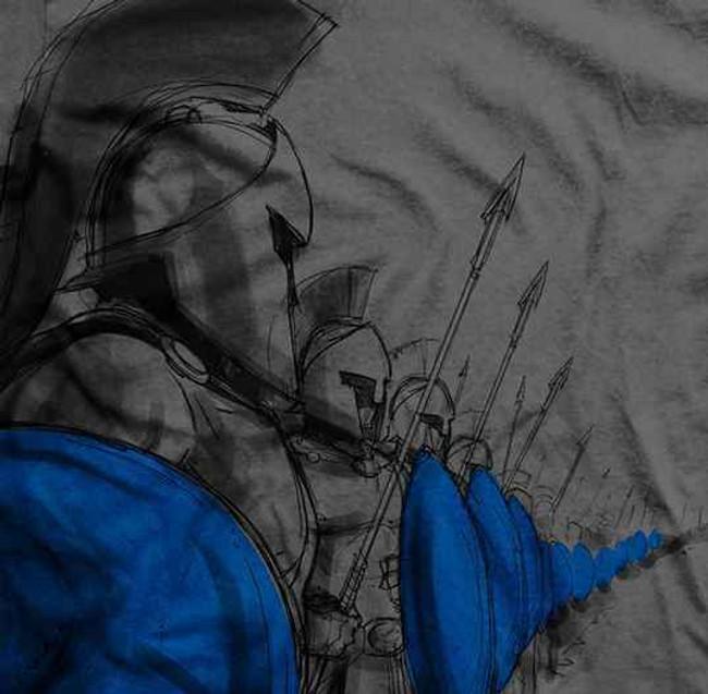 Ranger Up Hold The Line T-Shirt RU827