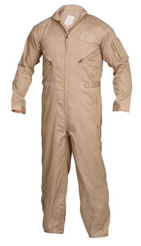 TRU-SPEC 27-P Basic Flight Suit Khaki
