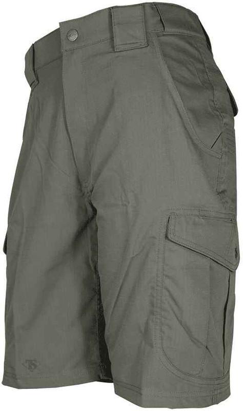 TRU-SPEC 24-7 Men's Ascent Shorts LE green front