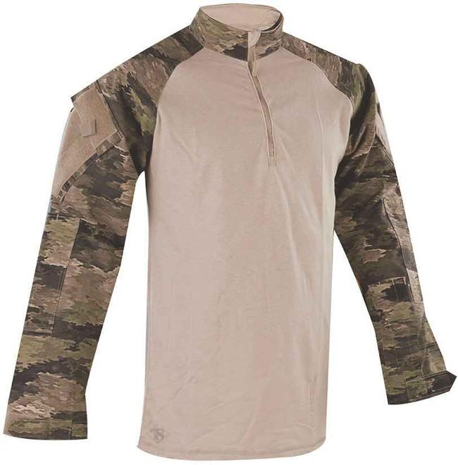TRU-SPEC TRU 1/4 Zip A-Tacs iX Combat Shirt ATACS-IX-CS