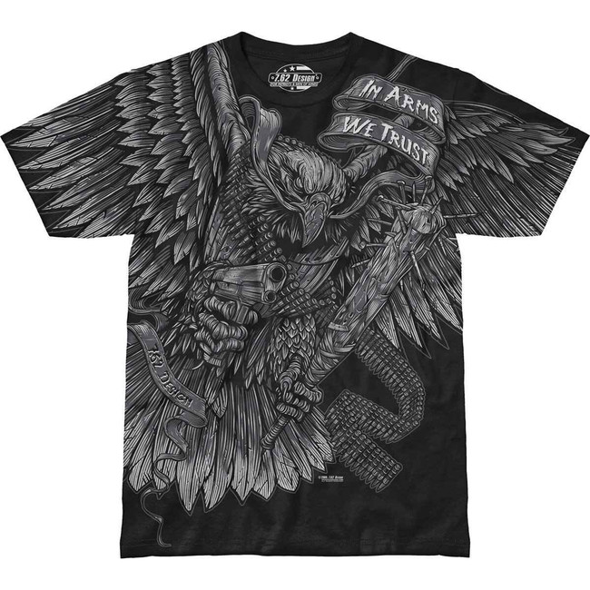7.62 Designs In Arms We Trust T-Shirt 002-430