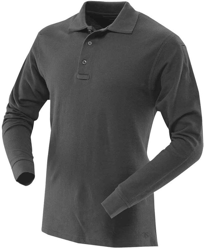 TRU-SPEC 24/7 Series Mens L/S Classic 100percent Cotton Polo MENS-LS-COTTON-POLO