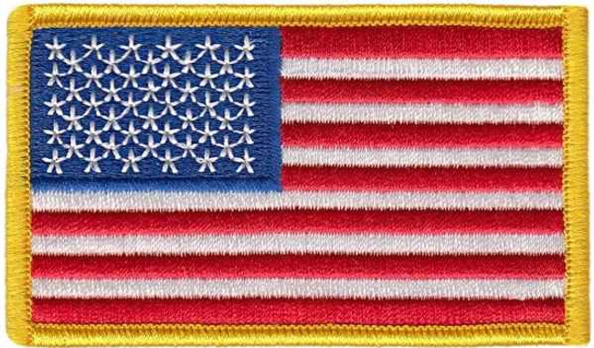 Heros Pride US Flag Patch 0001HP - LA Police Gear - |Only 1.49|