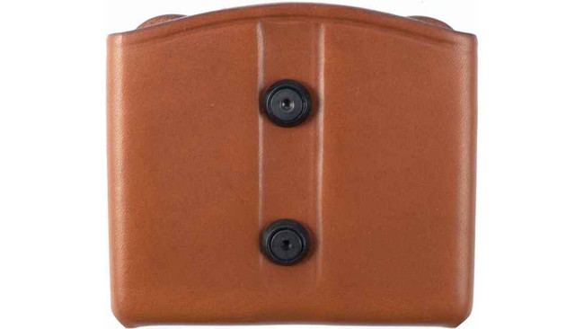 Blackhawk Leather Dual Mag Pouch - Brown 420902BN 648018138928