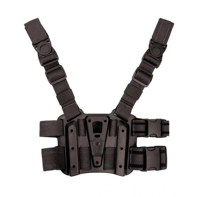 Blackhawk Tactical Holster Modular Drop Leg Platform black