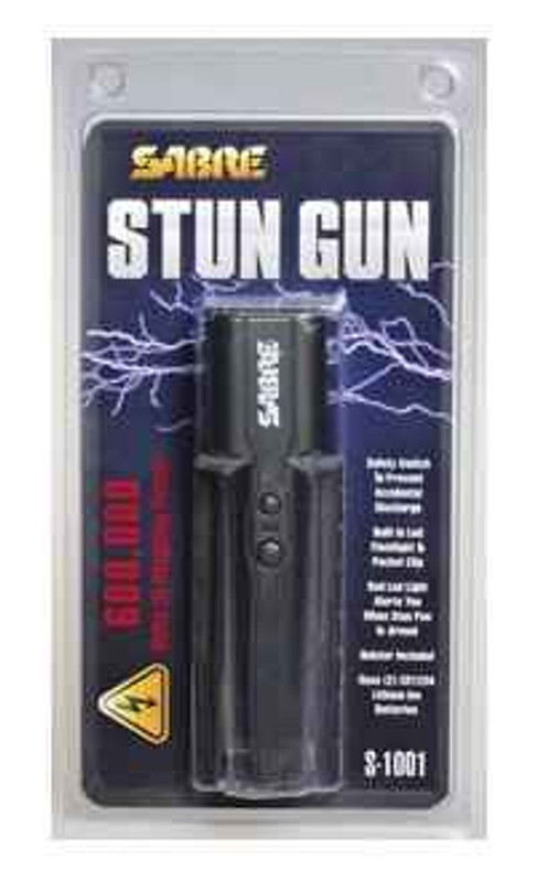 Sabre S-1001 600,000 Volt Stun Gun S-1001 023063807003