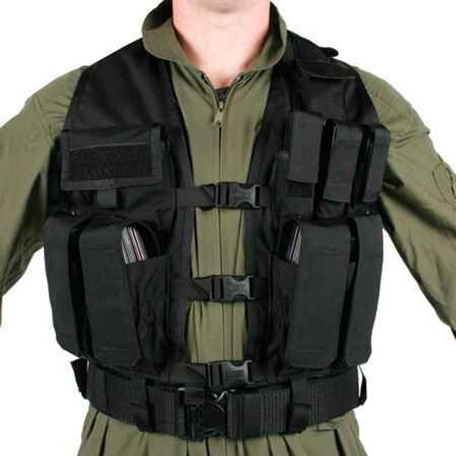 Blackhawk Tactical Urban Assault Vest 33UA00BK 648018002786