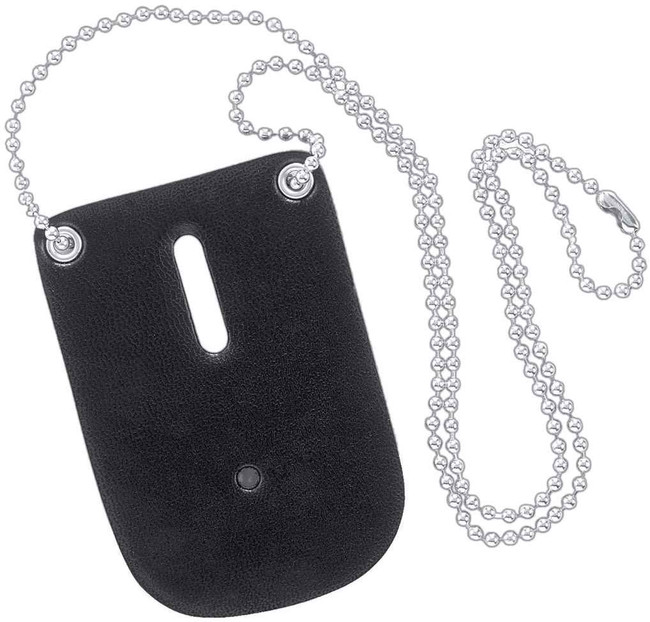 Safariland 7352 Badge Holder with Neck Chain 7352-2 781602090612