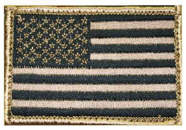 "Blackhawk American Flag Patch Tan - 2"" x 3"""
