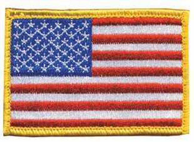 Blackhawk American Flag Patch RWB