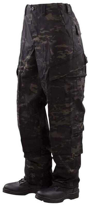 TRU-SPEC Tactical Response Uniform Pants - MultiCam Black TRUPANTS-MULTIBLACK