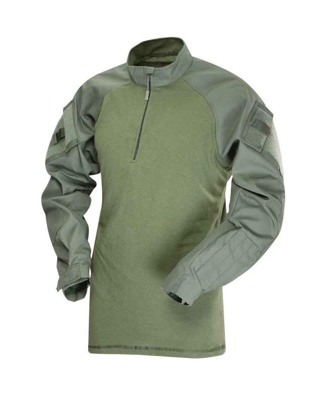 TRU-SPEC Poly/Cotton Tactical Response Uniform TRU 1/4 Zip Combat Shirt TRUPC-CSHIRT