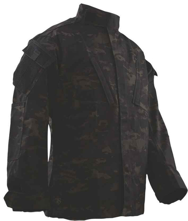 TRU-SPEC Tactical Response Uniform Shirt - MultiCam Black TRUSHIRT-MULTIBLACK