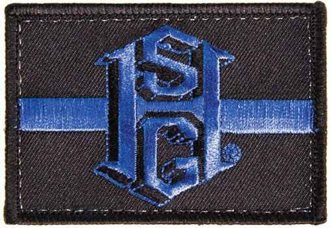 High Speed Gear Thin Blue Line Patch 90TL00