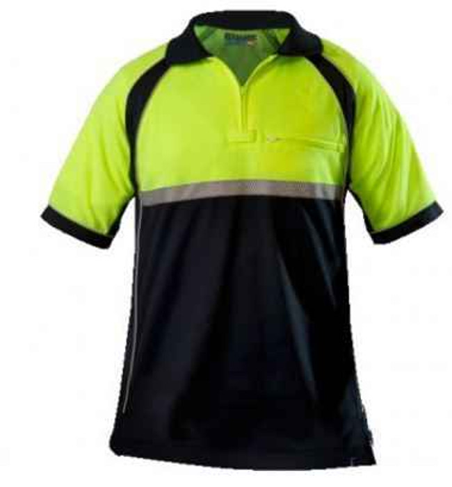 Blauer Colorblock Performace Polo 8133