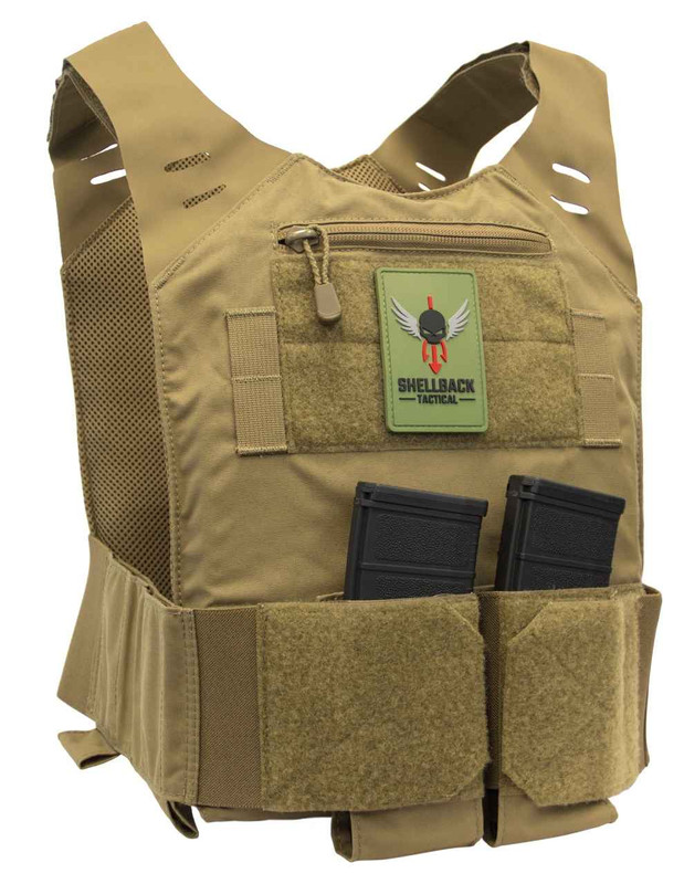 Shellback Tactical Stealth Low Vis Plate Carrier STLTHPC