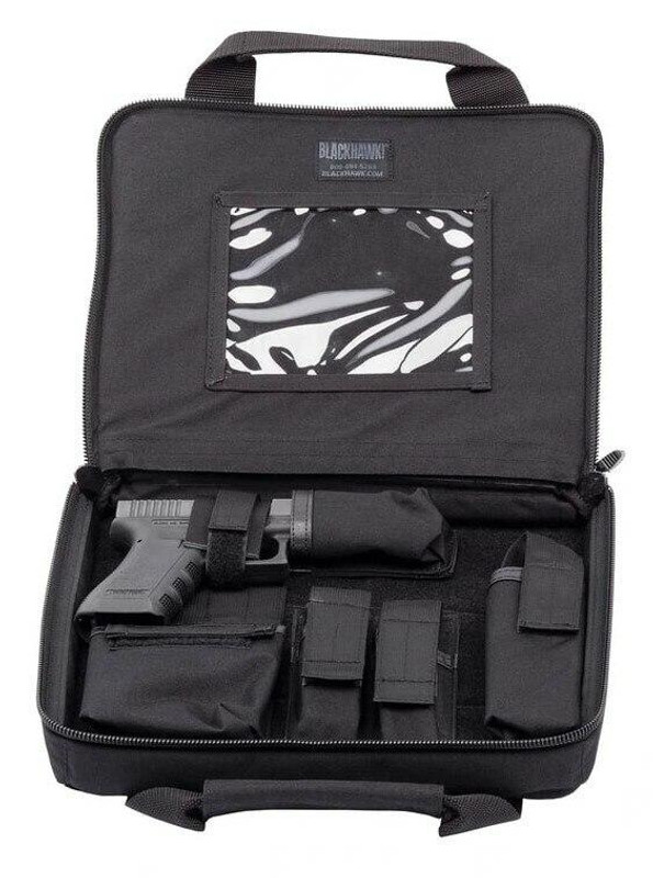 Blackhawk Discreet SOCOM Pistol Case open