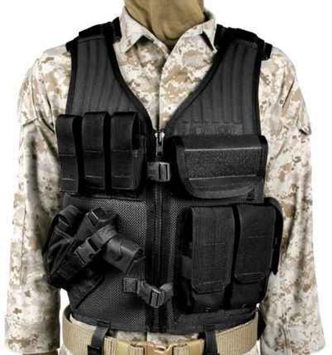 Blackhawk Omega Elite Cross Draw Vest black