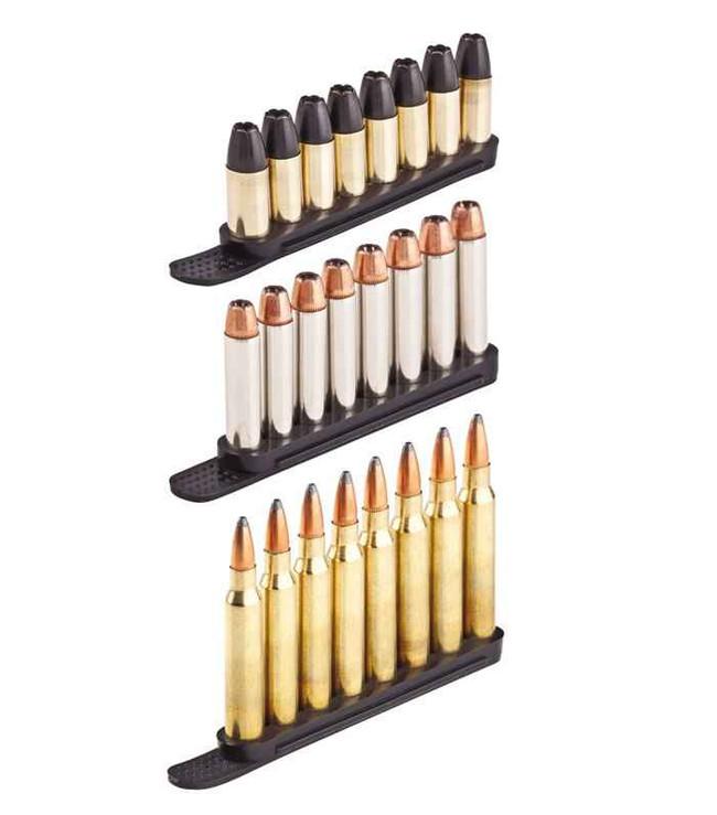 TUFF QuickStrips 2 Set Black- 8 Round .223/.32/.327/9MM Luger Parabellum