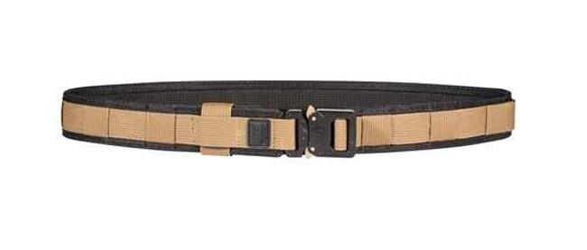 """TUFF 1.5"""" EZ-Feed Cobra Ranger Belt black and coyote"""