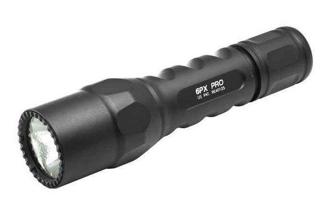 Surefire 6PX 320 Lumens Black Pro Flashlight - Opened Item 6PX-D-BK 084871320290