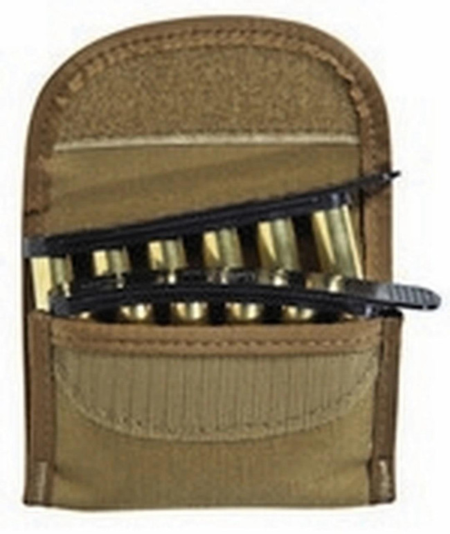 TUFF QuickStrips Tactical Pouch Size 3 Coyote open