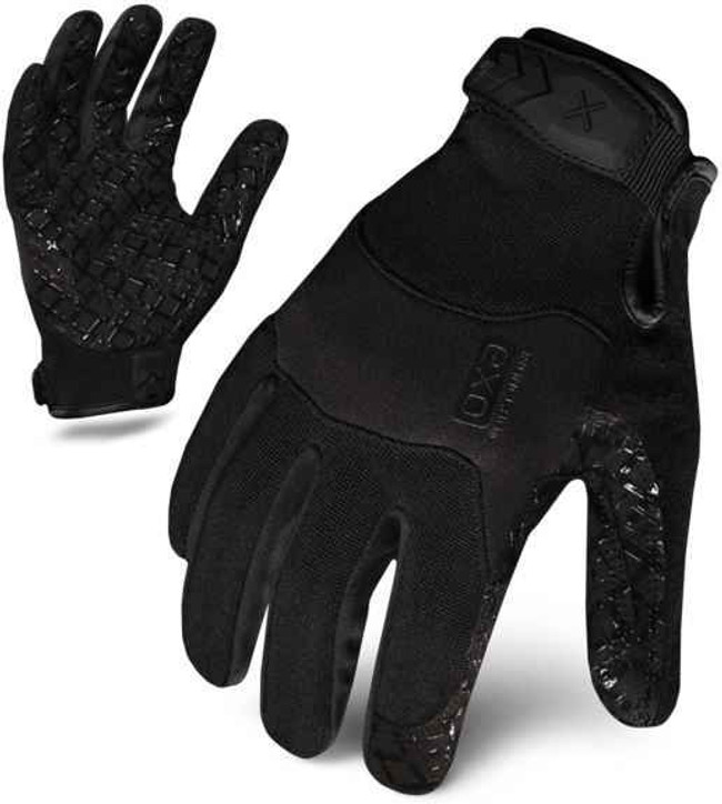 Ironclad EXO Black Tactical Grip Stealth Gloves EXOT-GBLK