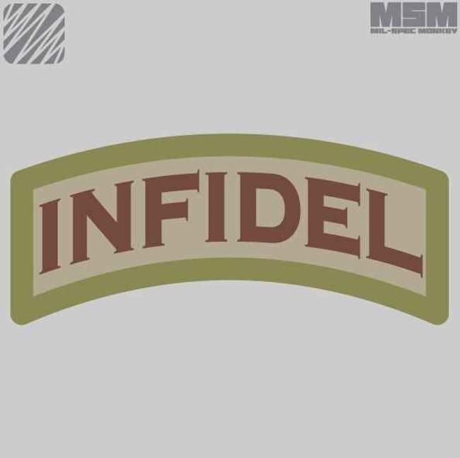 Mil-Spec Monkey Infidel Patch INFIDEL