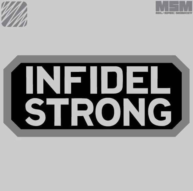 Mil-Spec Monkey Infidel Strong Patch INFSTRONG