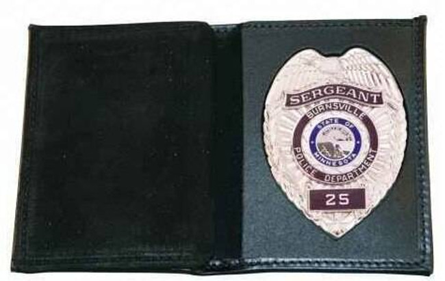 Boston Leather 165 Book Style Wallet with Vertical CC Slots 165-S