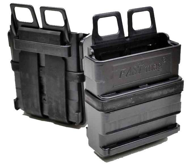 ITW Military Products FastMag MOLLE PALS Heavy Magazine Pouch -  FASTMAG-HEAVY-MOLLE - Black - LA Police Gear