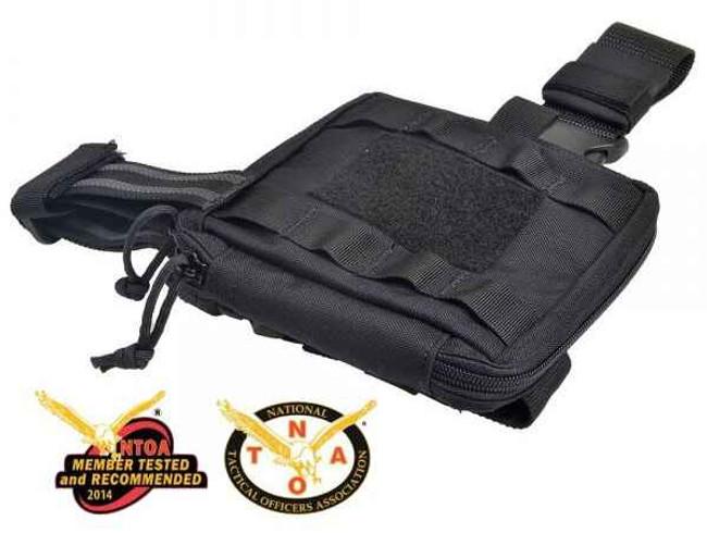 Strike Industries RICCI Compact Medical Pouch with Leg Strap RICCI-CMP-W-BK 700598350340