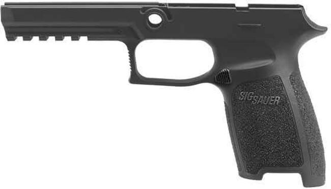 Sig-Sauer P250, P320 Full Size 9MM/.40 SandW/.357 Small Grip Module Assembly GRIP-MOD-F-943-SM-BK