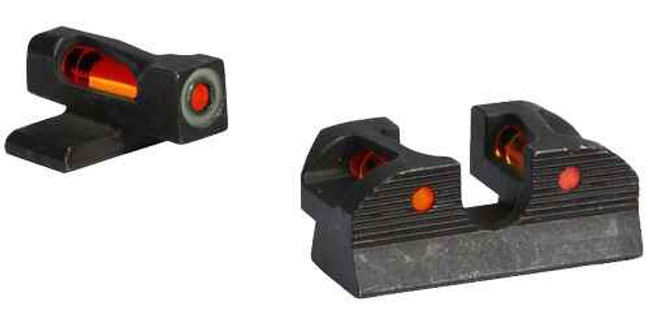 Sig-Sauer X-Ray1 Enhanced Day Sight Set - #6 Red Front, #6 Red Rear, #6 Round Rear SOX11015 798681552603