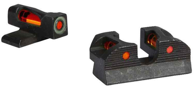 Sig-Sauer X-Ray1 Enhanced Day Sight Set - #6 Red Front, #8 Red Rear, #8 Round Rear SOX11016 798681552610