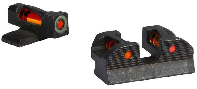Sig-Sauer X-Ray1 Enhanced Day Sight Set - #8 Red Front, #6 Red Rear, #6 Round Rear SOX11018 798681552634