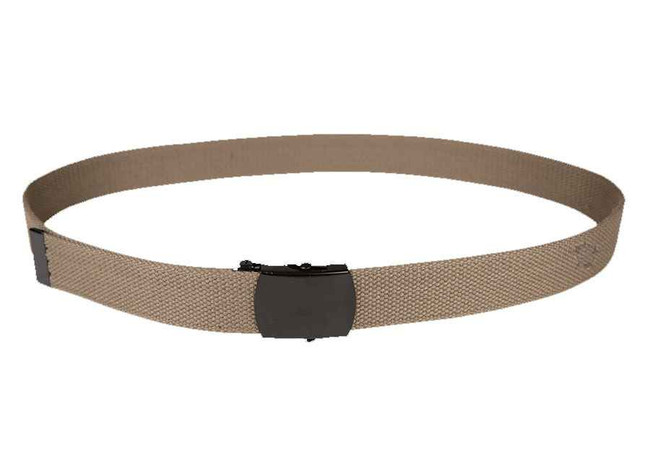 5ive Star Gear Black Closed Face Buckle Web Belt coyote
