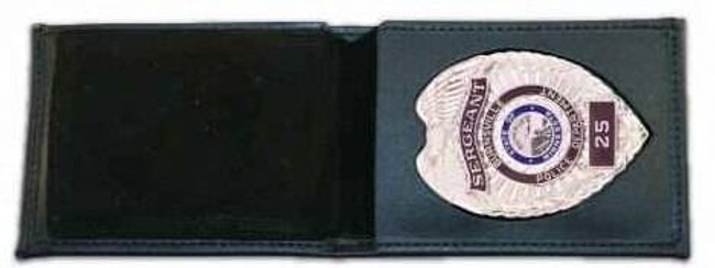 Boston Leather 275 Billfold Badge Case/Wallet with CC Slots 275-S