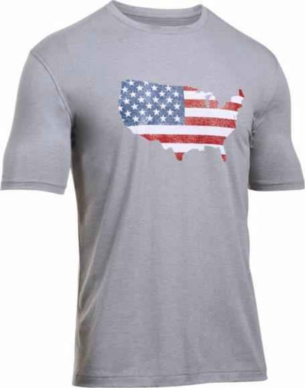 Under Armour Freedom Flag Map - T-Shirt 1285725