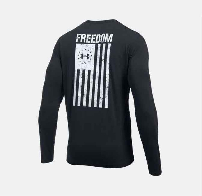 Under Armour Freedom Flag LS T-Shirt 1299259
