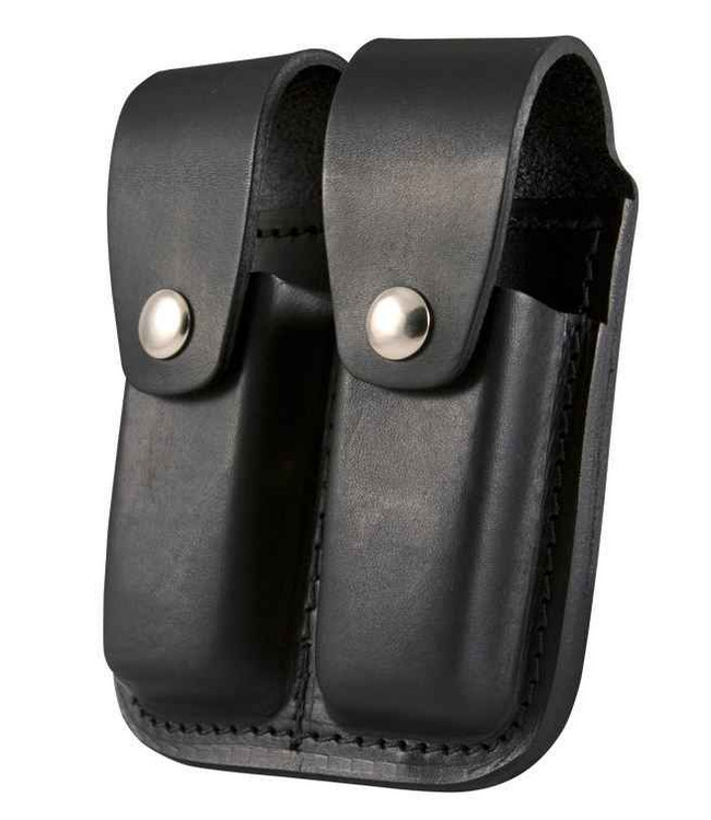 Boston Leather Double Mag Pouch 9mm/40 Cal 5601-BO